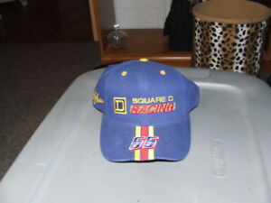 Vintage Square D Racing #55 Bobby Hamilton Cap - NEW - $8.00