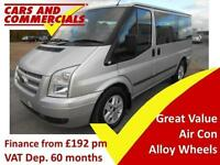 2012 12 FORD TRANSIT 280 SWB LIMITED 125PS 9-SEATS 2.2 DIESEL