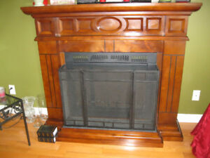 Beautiful Electric Fireplace with remote
