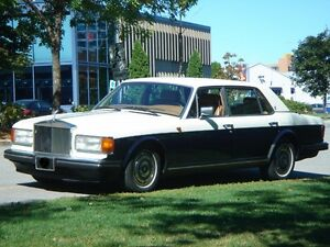 1989 Rolls-Royce Silver Spirit/Spur/Dawn Sedan