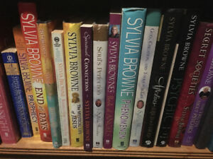 Lot Of Forty Sylvia Browne Books For Sale