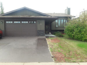 Price reduced/furnished house timberlea area