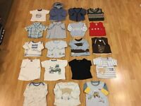 19 assorted baby tops in great condition