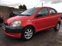 2002 Toyota Yaris 1.0 VVT-i 16v GS Hatchback 5dr Petrol Manual (134 g/km,