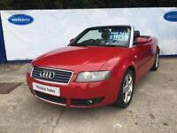 2003 Audi A4 Cabriolet 1.8T Sport Convertible