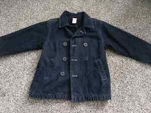 Gymboree size 5 fleece lined jean jacket