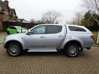 2009 09 Reg Mitsubishi L200 2.5DI-D 4WD Double Cab Pickup Animal