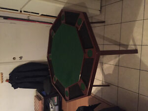 Authentique table poker kestell