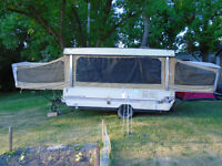 TENT TRAILER $300 OR TRADE JUST WANT IT GONE!