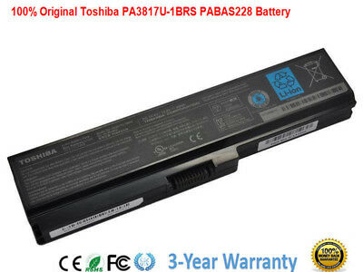 New PA3817U-1BRS Genuine Original Toshiba Satellite L655 L655D Battery PC Laptop