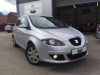 2008/08 Seat Altea 1.9 TDI Stylance TURBO DIESEL 5 Door Metallic Silver MPV