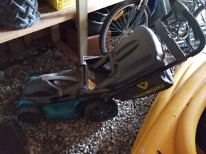 Electric Lawn Mower - used for one season only
