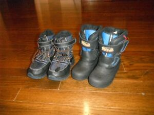 boy toddler sz 9 Winter boots