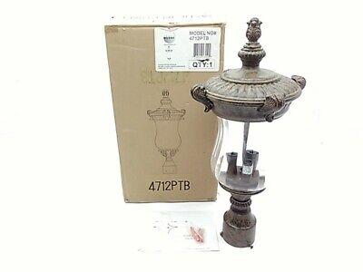 60w patina bronze lantern fixture 4712ptb