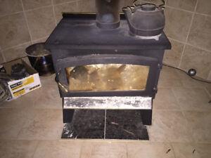 Foyer Drolet combustion lente