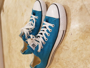 Converse Chuck Taylor All-Star (Low Tops) - Teal - Size 10.5