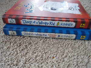 #1 and #2 Diary of a Wimpy Kid-Hard Cover-NEW! London Ontario image 2