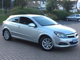 2010 VAUXHALL ASTRA 1.6 SILVER 1 YEAR MOT 3 DOOR COUPE SILVER