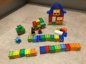 Duplo 6051 play with letters