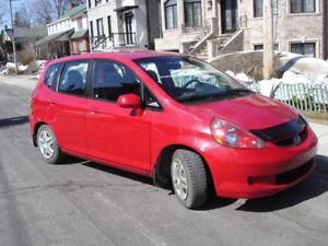 Honda Fit Sport 2008 manuelle avec seulement 48 000km