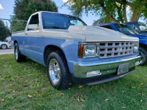 85 Chevy V8 S10 trade for full size 4x4 chevy/gmc