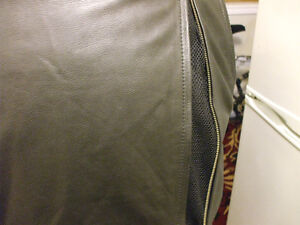 Never worn XXL leather motorcycle jacket Stratford Kitchener Area image 6