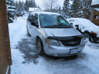2001 Chrysler Town & Country Minivan, Van