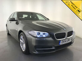 2014 BMW 520D SE DIESEL HEATED SEATS LEATHER INTERIOR 1 OWNER SERVICE HISTORY