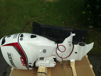 135hp High Output Evinrude outboard e-tec engine