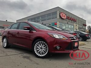 2014 Ford Focus TITANIUM | ONE OWNER | LOW KM