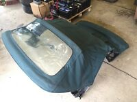 E36 Electric Convertible Roof - Green