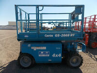 Genie 2668RT Dual Fuel Scissor Lift