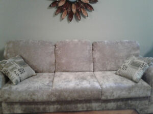 EXCELLENT SHAPE  Couch and chair never been used