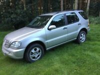 02 Mercedes ml 270 Cdi auto 10 months mot may px swap why