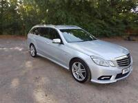 2011 Mercedes-Benz E250 CDI Estate 2.1 Blue F Auto AMG Sport Beautiful Car P/X