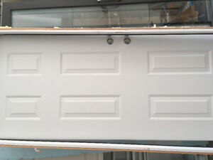 2/10 x 6/10 steal 6 panels door and frame wood 2 x 4  jamb used