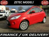 2013 Ford KA 1.2 Zetec 3dr [Start Stop] HATCHBACK Petrol Manual