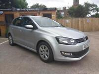 2013 VOLKSWAGEN POLO 1.2TDI ( 75ps ) BLUEMOTION TECH IN SILVER
