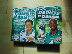 ROUGHRIDER CEREAL BOXES empty: DURANT / FANTUS
