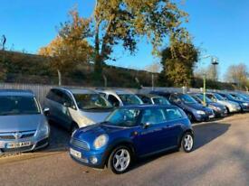 2009 Mini 1.4 One 3 Door Hatchback Blue (70,000 Miles)