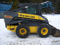 2006 New Holland skid steer