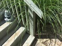 Cedar railings and handrails
