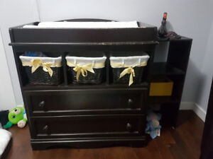 two drawer change table