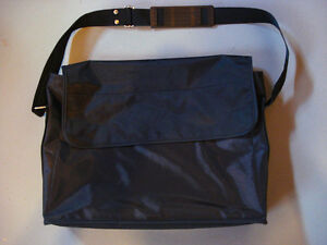 BLACK Nylon Professional Laptop Bag
