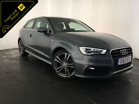 2013 AUDI A3 S LINE TDI DIESEL 1 OWNER SERVICE HISTORY FINANCE PX WELCOME