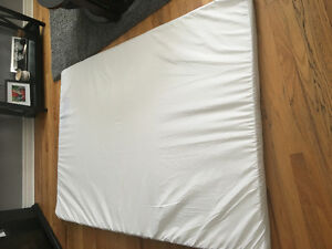 Memory foam mattress cover