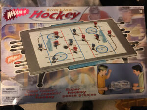 slim line table top hockey games, used for sale  Sarnia