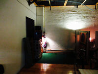 Inter-x artist space available (green screen sound stage) JAN 1