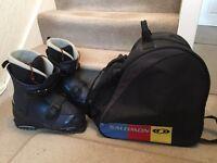 Snow Blade Boots & Carry Bag
