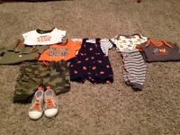 """Boys 0-3 """"Outfit"""" Lot"""